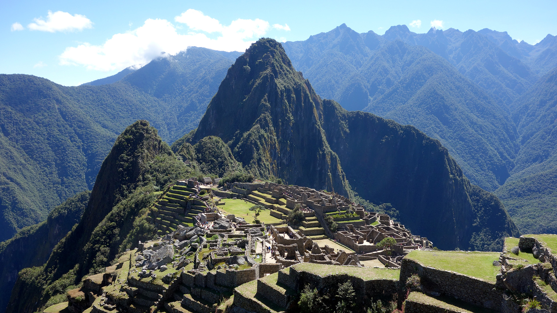 Direction le Machu Picchu